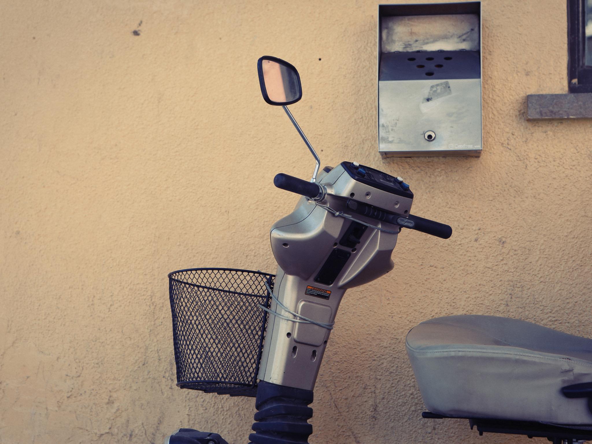 Ergotherapie - Veilig rijden op een scootmobiel
